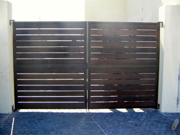 Wooden Gates Concept Steel Creations